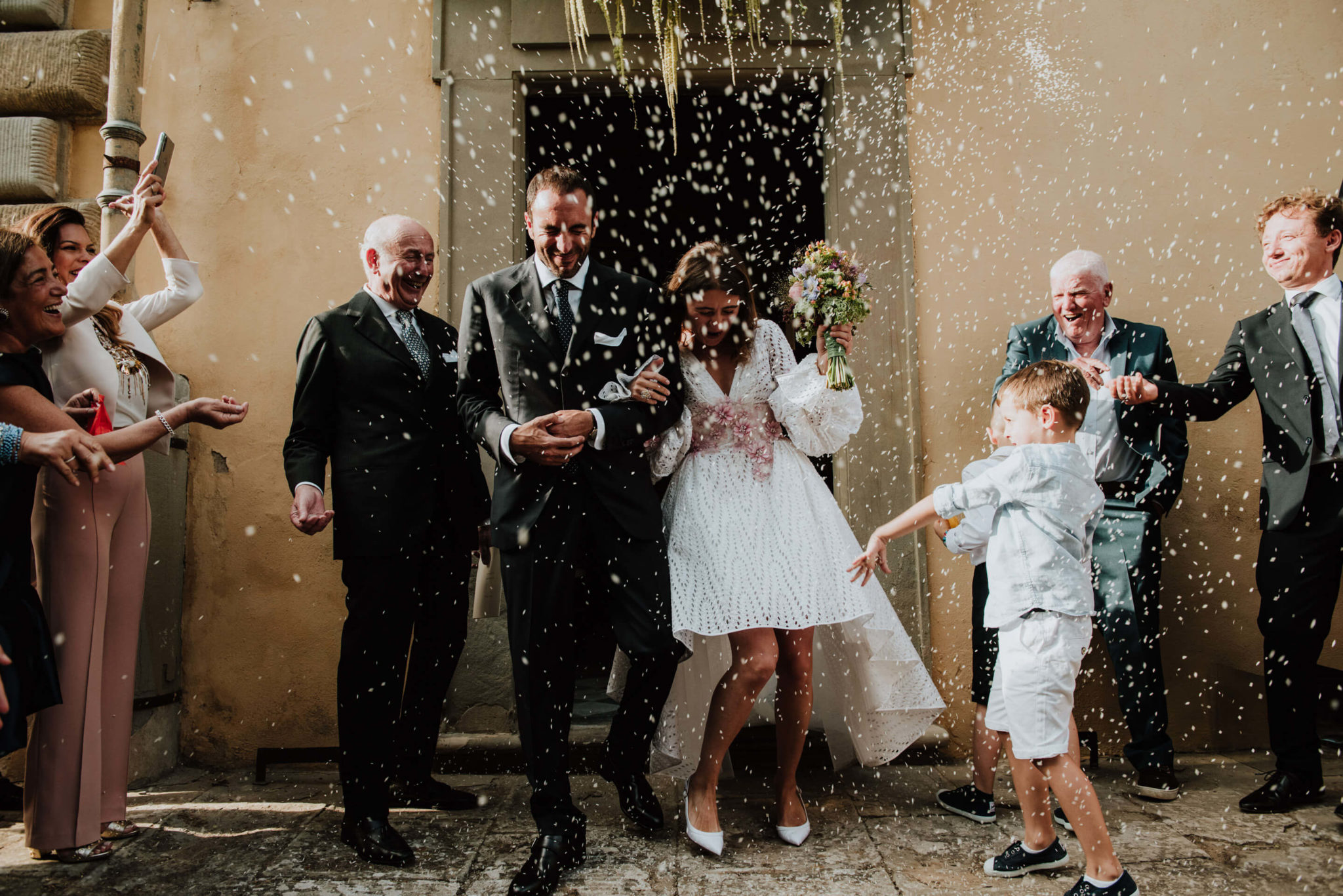wedding in amazing location in tuscany